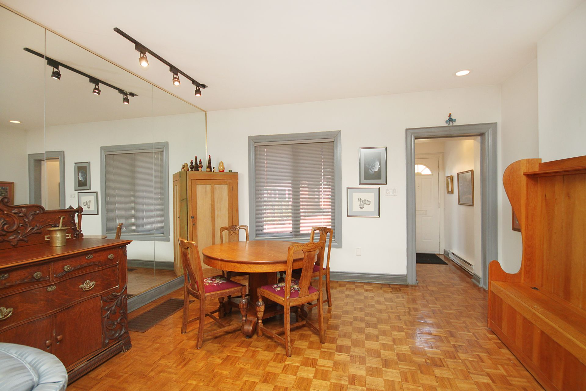 Dining Room at 21 West Avenue, South Riverdale, Toronto