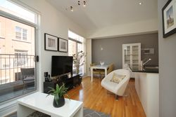 Living & Dining Room at TH3 - 1388 Bloor Street W, Dovercourt-Wallace Emerson-Junction, Toronto