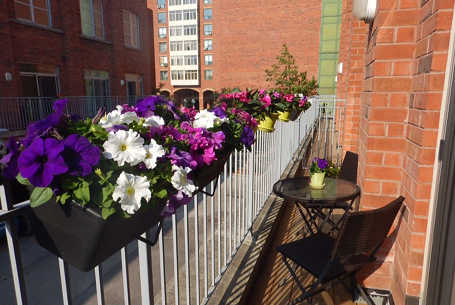 Balcony at TH3 - 1388 Bloor Street W, Dovercourt-Wallace Emerson-Junction, Toronto