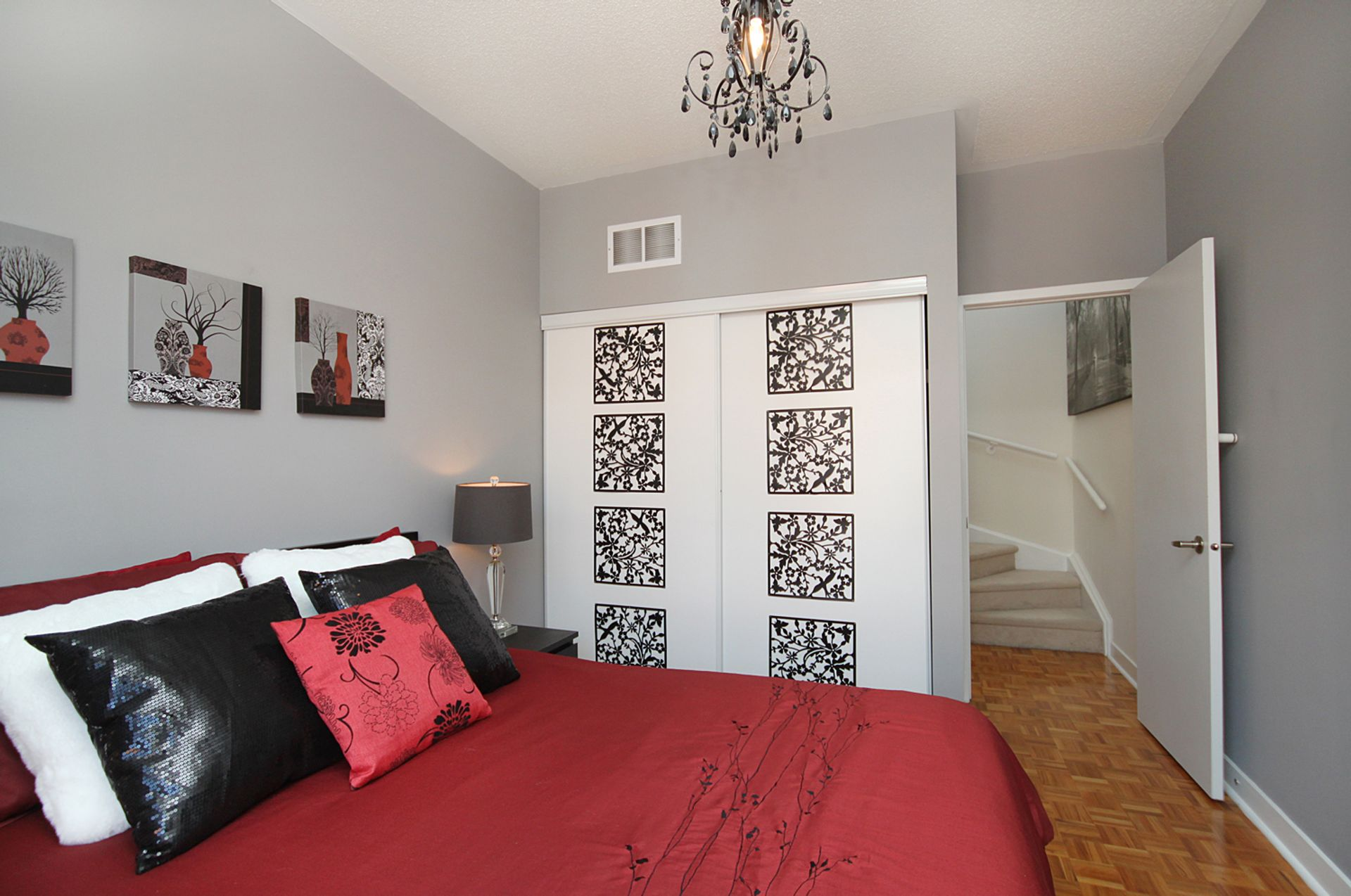Primary Bedroom at TH3 - 1388 Bloor Street W, Dovercourt-Wallace Emerson-Junction, Toronto