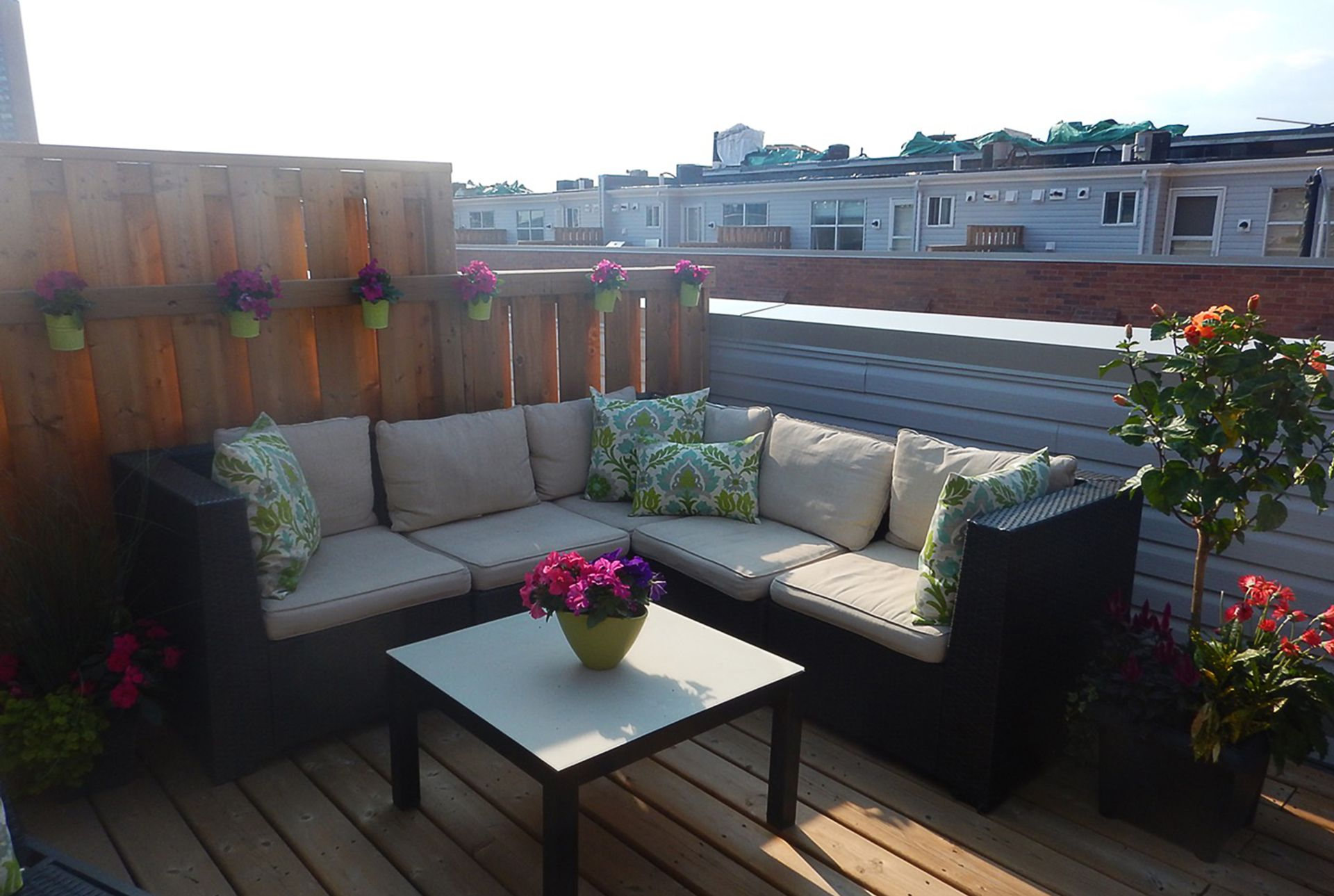 Rooftop Terrace at TH3 - 1388 Bloor Street W, Dovercourt-Wallace Emerson-Junction, Toronto
