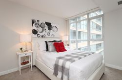 Primary Bedroom at 632 - 15 Iceboat Terrace, Waterfront Communities C1, Toronto