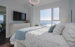 Primary Bedroom at 2810 - 33 Shore Breeze Drive, Mimico, Toronto