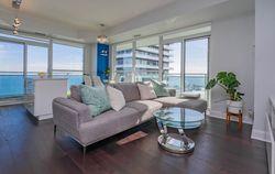 Living Room at 2810 - 33 Shore Breeze Drive, Mimico, Toronto