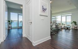 Hallway at 2810 - 33 Shore Breeze Drive, Mimico, Toronto