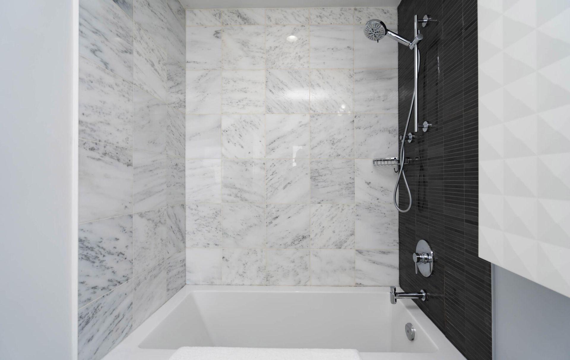 Primary Bedroom Ensuite Bathroom at 2810 - 33 Shore Breeze Drive, Mimico, Toronto