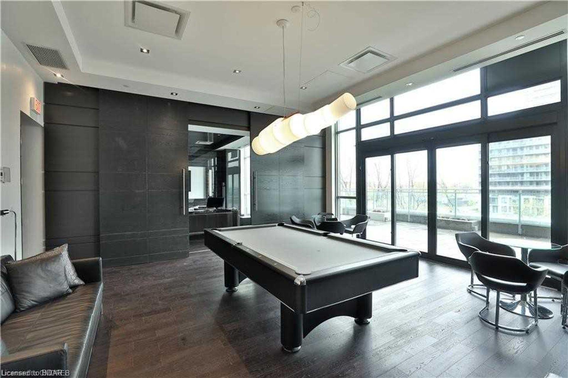 Games Room at 2810 - 33 Shore Breeze Drive, Mimico, Toronto