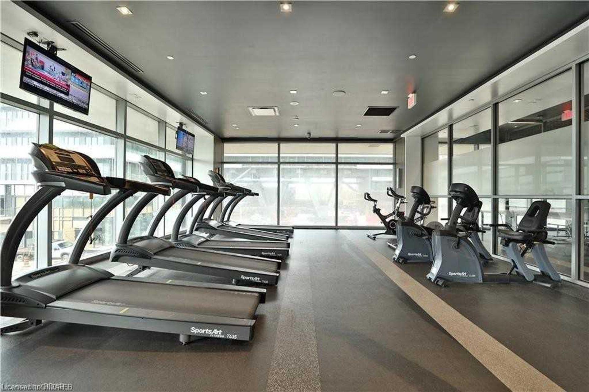 Gym at 2810 - 33 Shore Breeze Drive, Mimico, Toronto