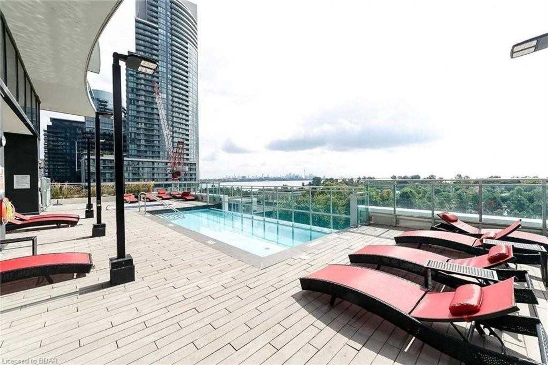 Pool at 2810 - 33 Shore Breeze Drive, Mimico, Toronto