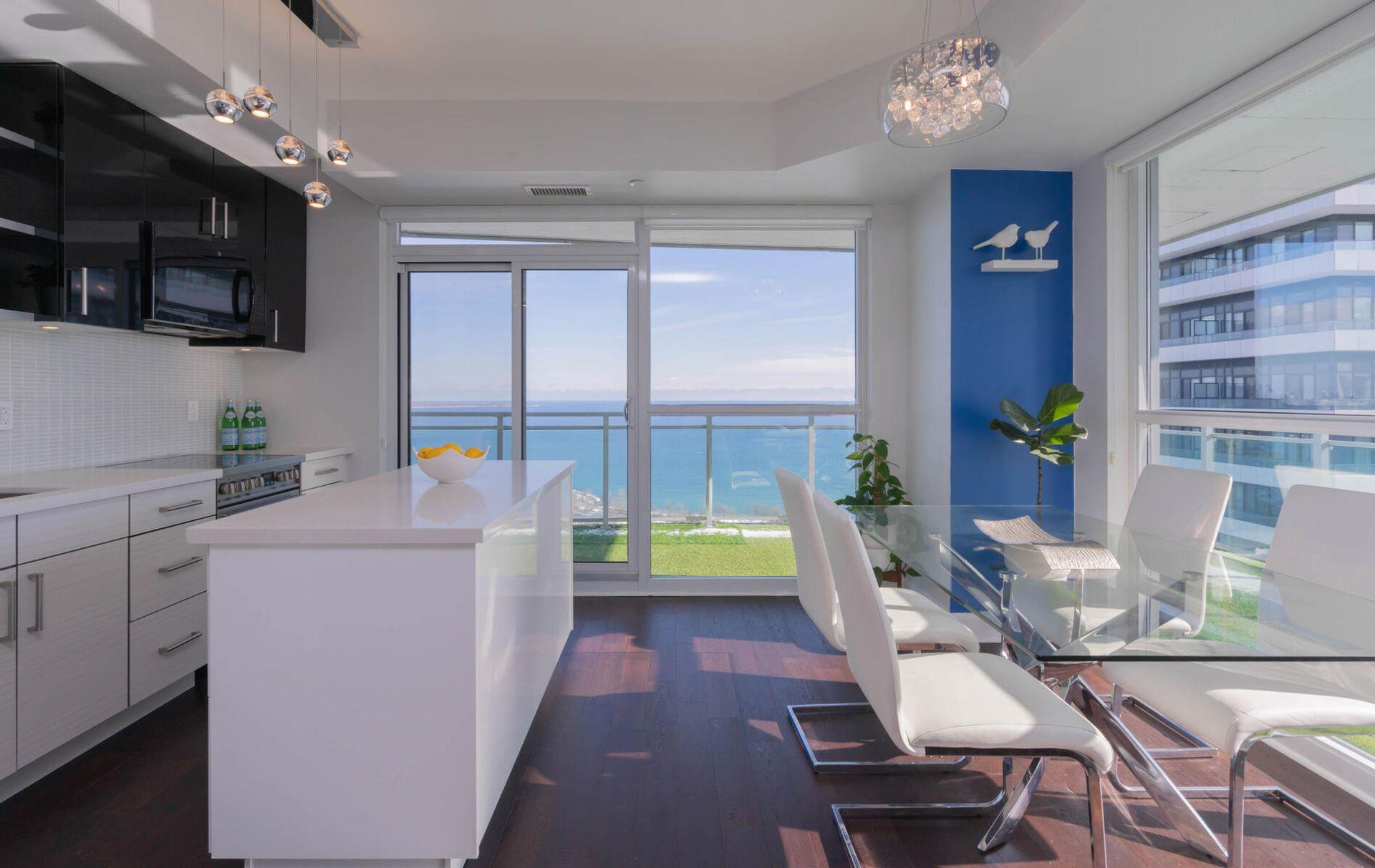 Dining Room at 2810 - 33 Shore Breeze Drive, Mimico, Toronto