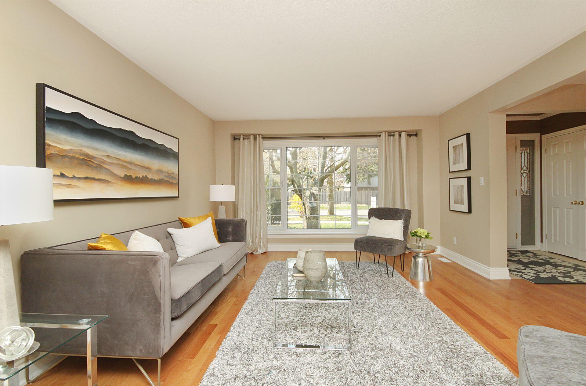 Living Room at 50 Rustywood Drive, Parkwoods-Donalda, Toronto