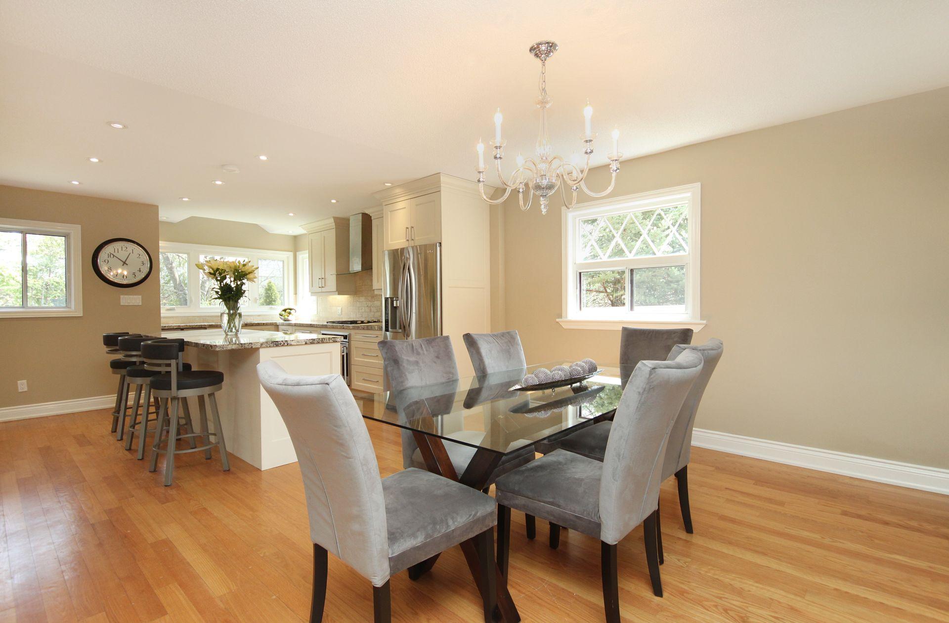 Dining Room at 50 Rustywood Drive, Parkwoods-Donalda, Toronto