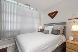 Primary Bedroom at 124 - 35 Brian Peck Crescent, Leaside, Toronto