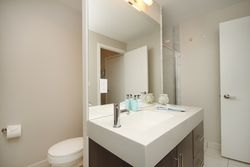 3 Piece Ensuite Bathroom at 124 - 35 Brian Peck Crescent, Leaside, Toronto