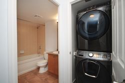 4 Piece Bathroom & Laundry at 505 - 51 Lower Simcoe Street, Waterfront Communities C1, Toronto