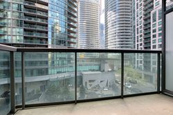 Balcony at 505 - 51 Lower Simcoe Street, Waterfront Communities C1, Toronto