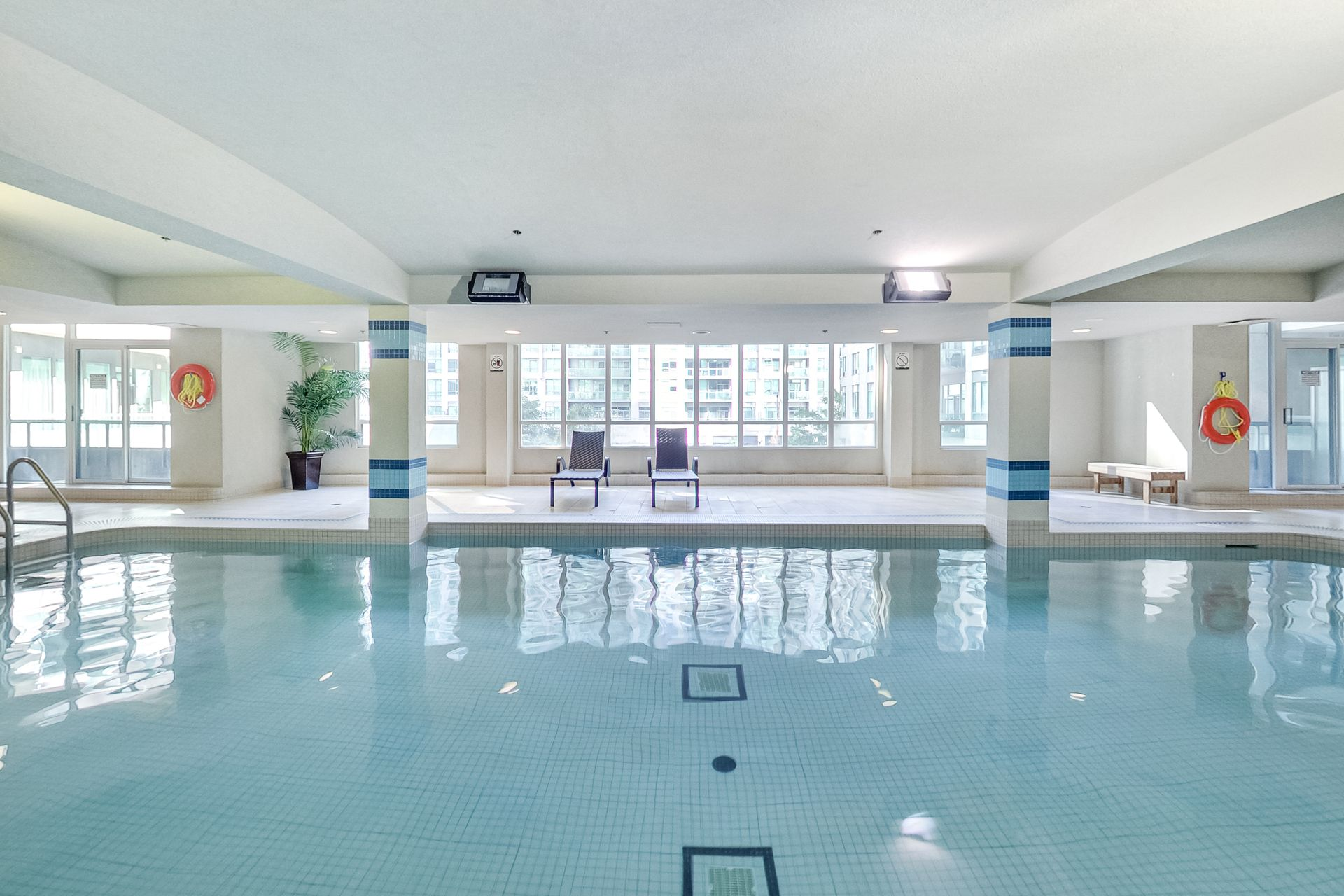 Indoor Swimming Pool at 505 - 51 Lower Simcoe Street, Waterfront Communities C1, Toronto