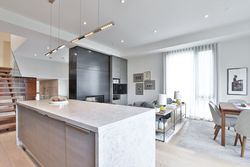 Kitchen & Living Room at 143 Joicey Boulevard, Bedford Park-Nortown, Toronto