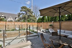 Backyard at 143 Joicey Boulevard, Bedford Park-Nortown, Toronto