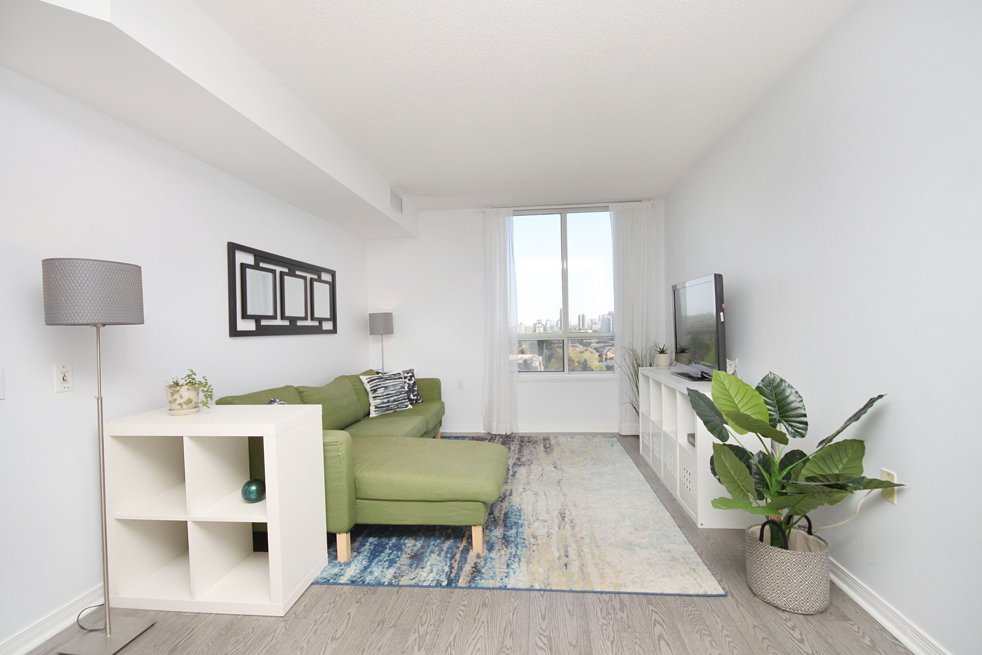 Living Room at 1209 - 35 Finch Avenue, Willowdale East, Toronto