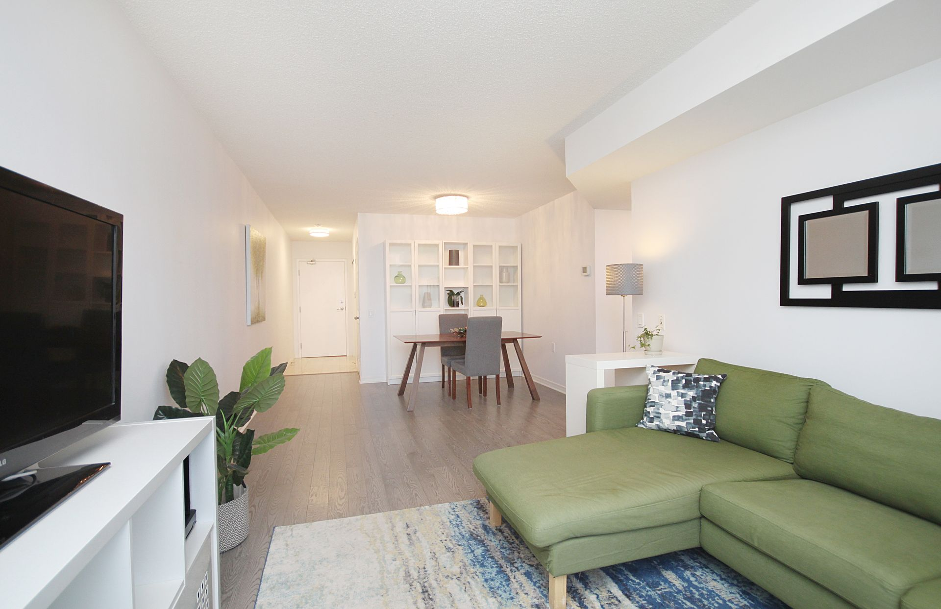 Living & Dining Room at 1209 - 35 Finch Avenue, Willowdale East, Toronto