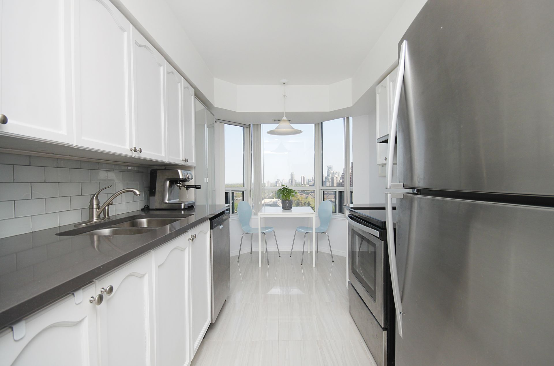 Kitchen at 1209 - 35 Finch Avenue, Willowdale East, Toronto