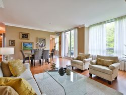 Living & Dining Room at 914 - 38 William Carson Crescent, St. Andrew-Windfields, Toronto