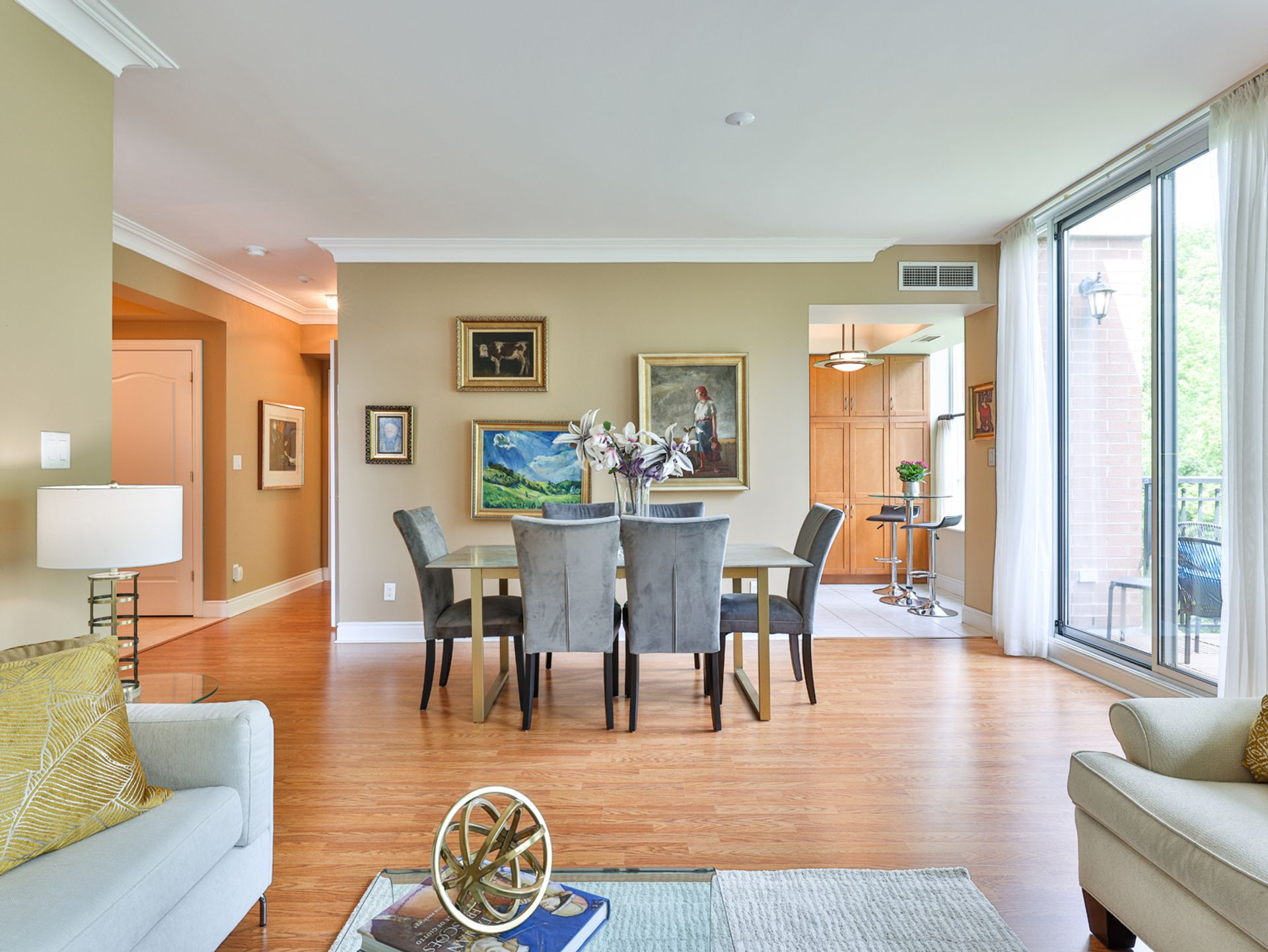 Dining Room at 914 - 38 William Carson Crescent, St. Andrew-Windfields, Toronto