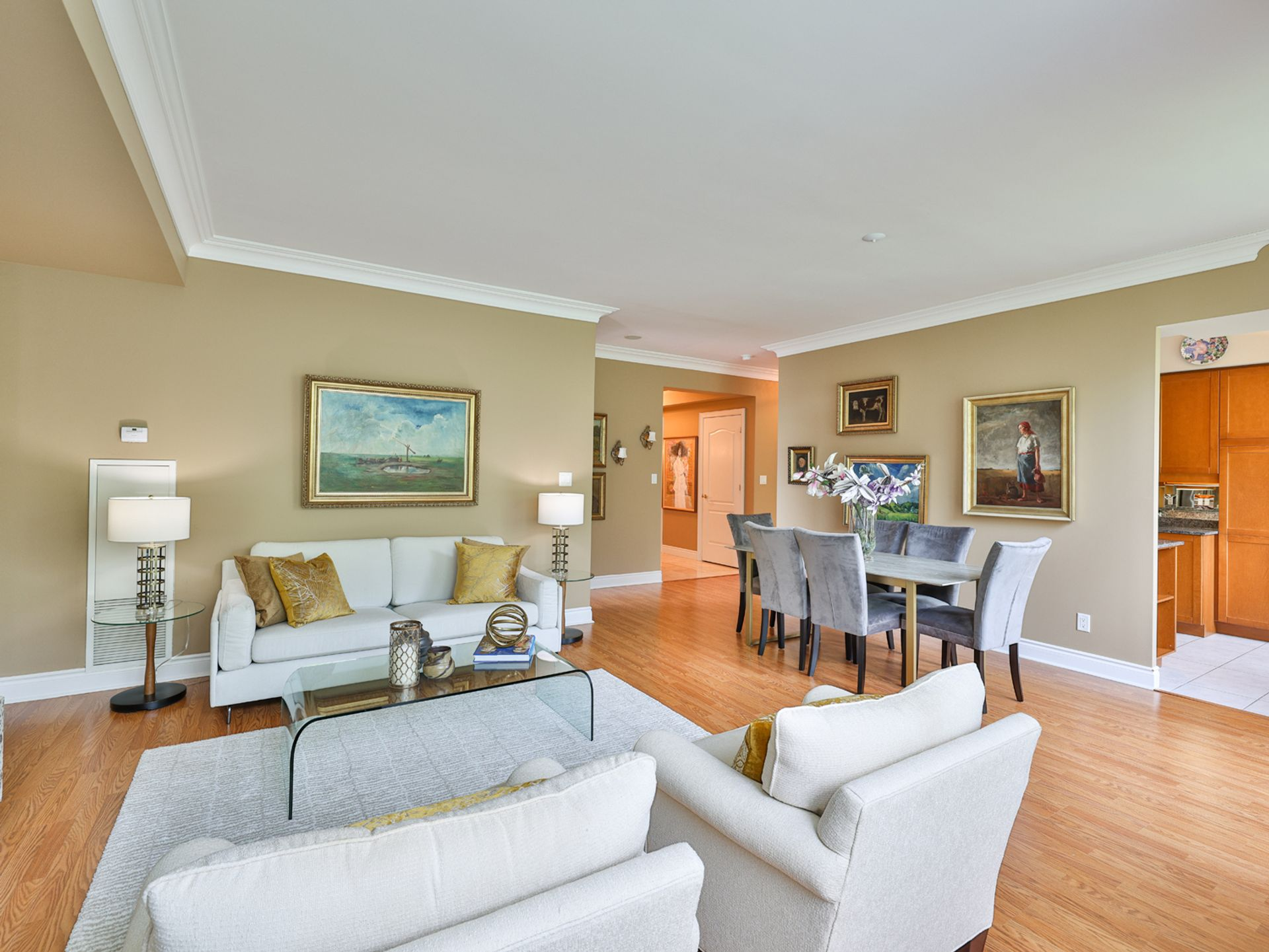 Living Room at 914 - 38 William Carson Crescent, St. Andrew-Windfields, Toronto