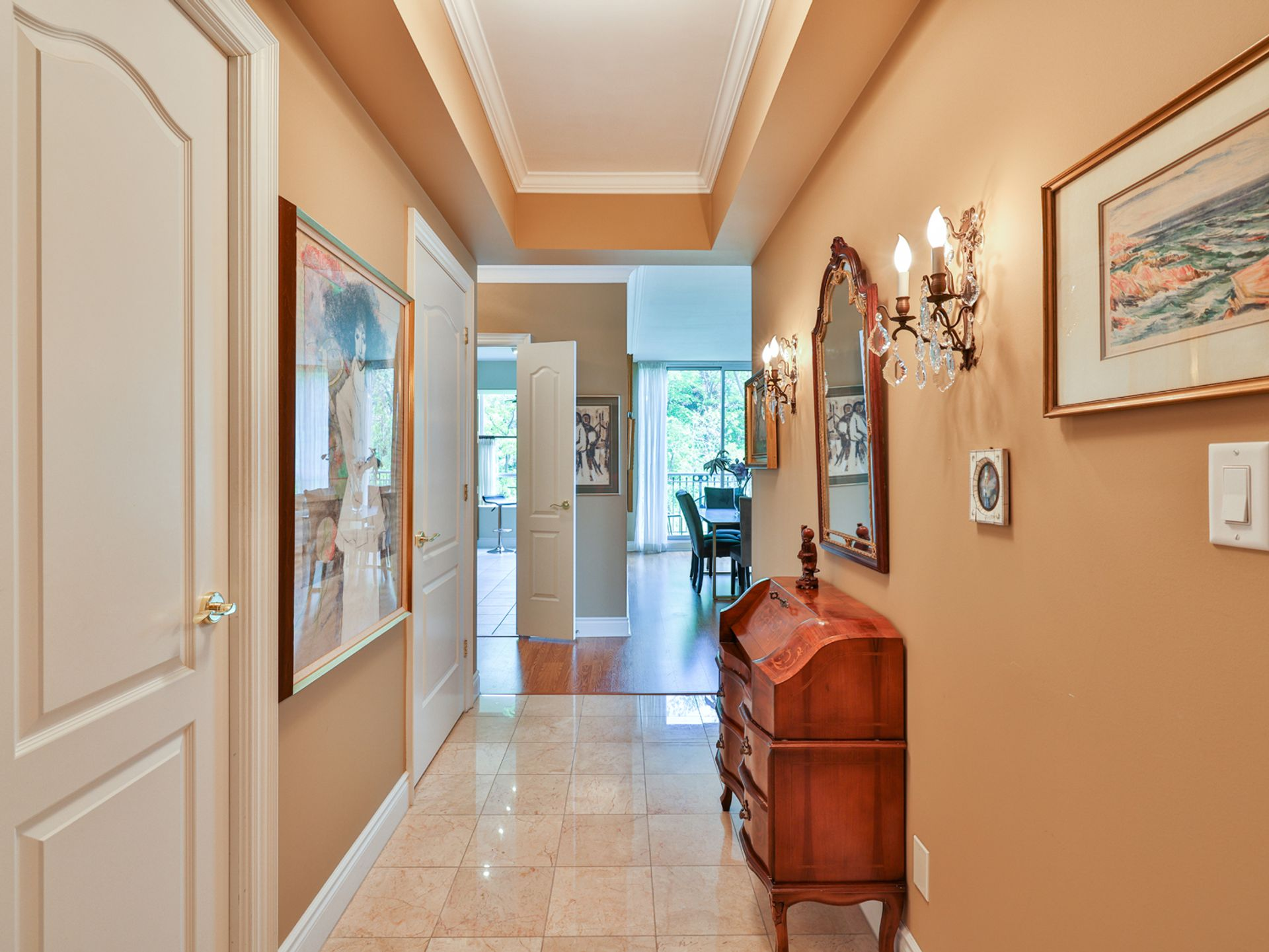 Foyer at 914 - 38 William Carson Crescent, St. Andrew-Windfields, Toronto