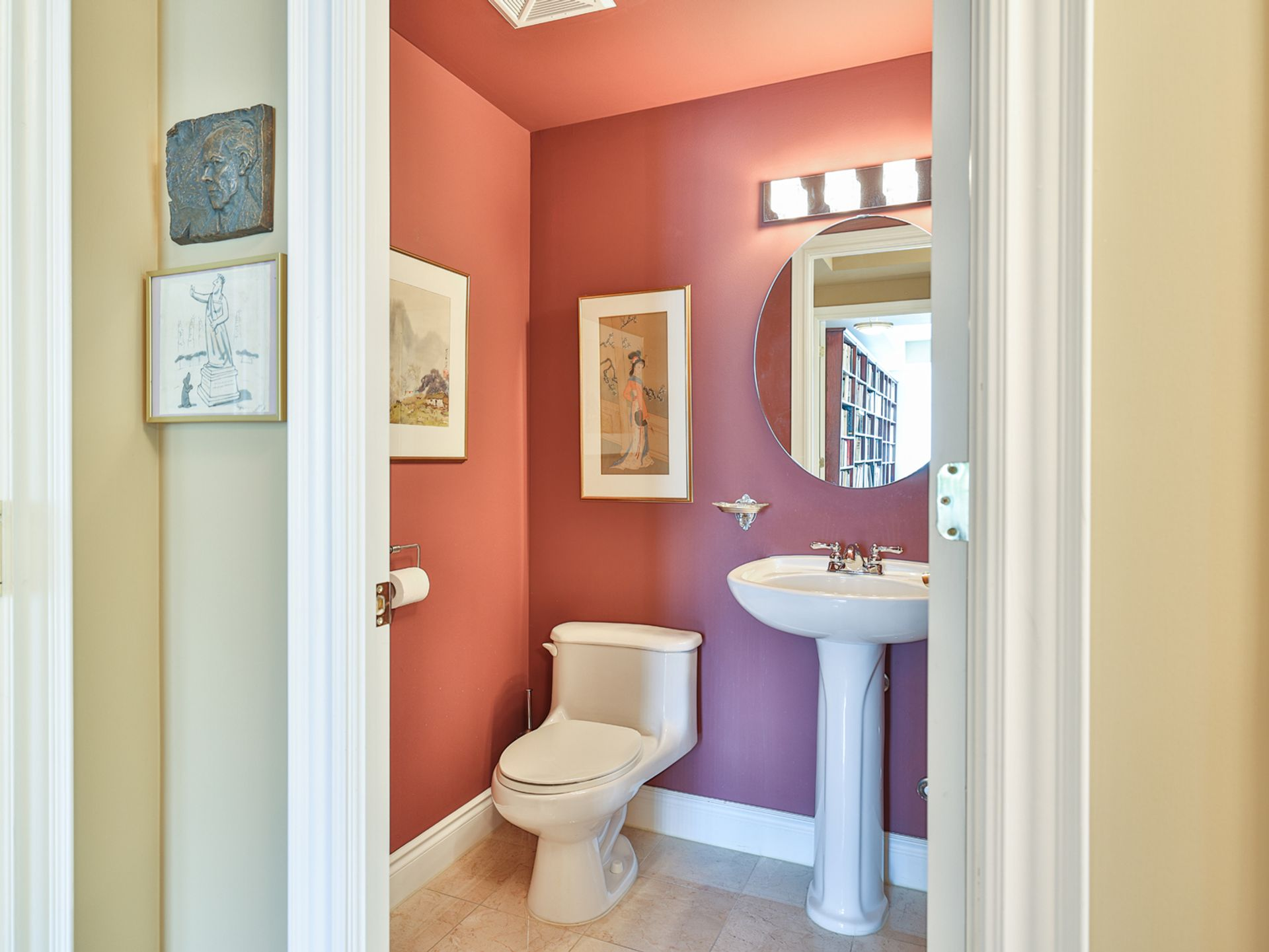 Powder Room at 914 - 38 William Carson Crescent, St. Andrew-Windfields, Toronto