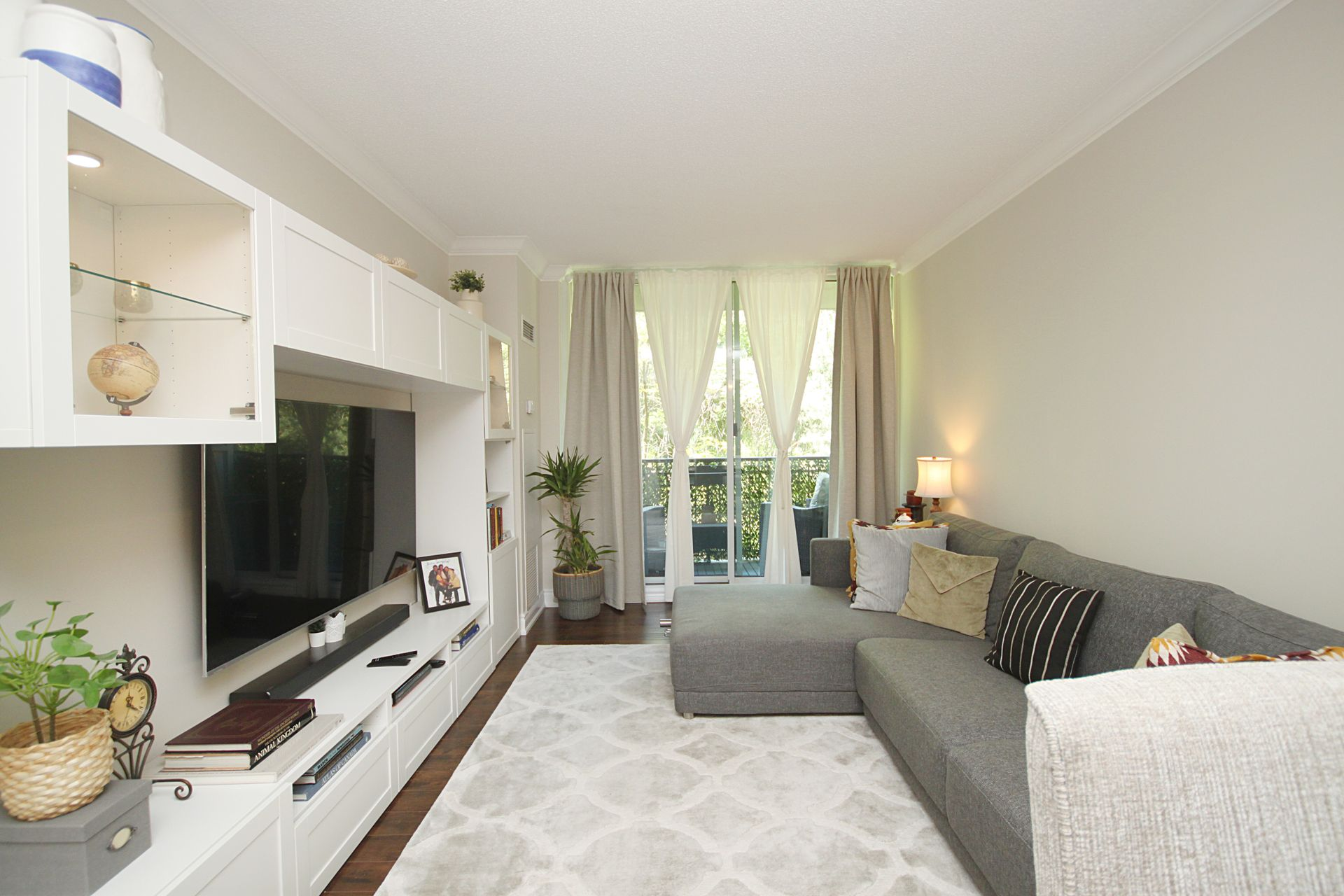 Living Room at 310 - 28 William Carson Crescent, St. Andrew-Windfields, Toronto