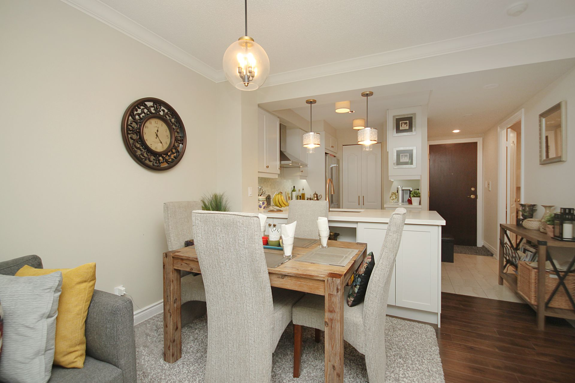 Dining Room at 310 - 28 William Carson Crescent, St. Andrew-Windfields, Toronto