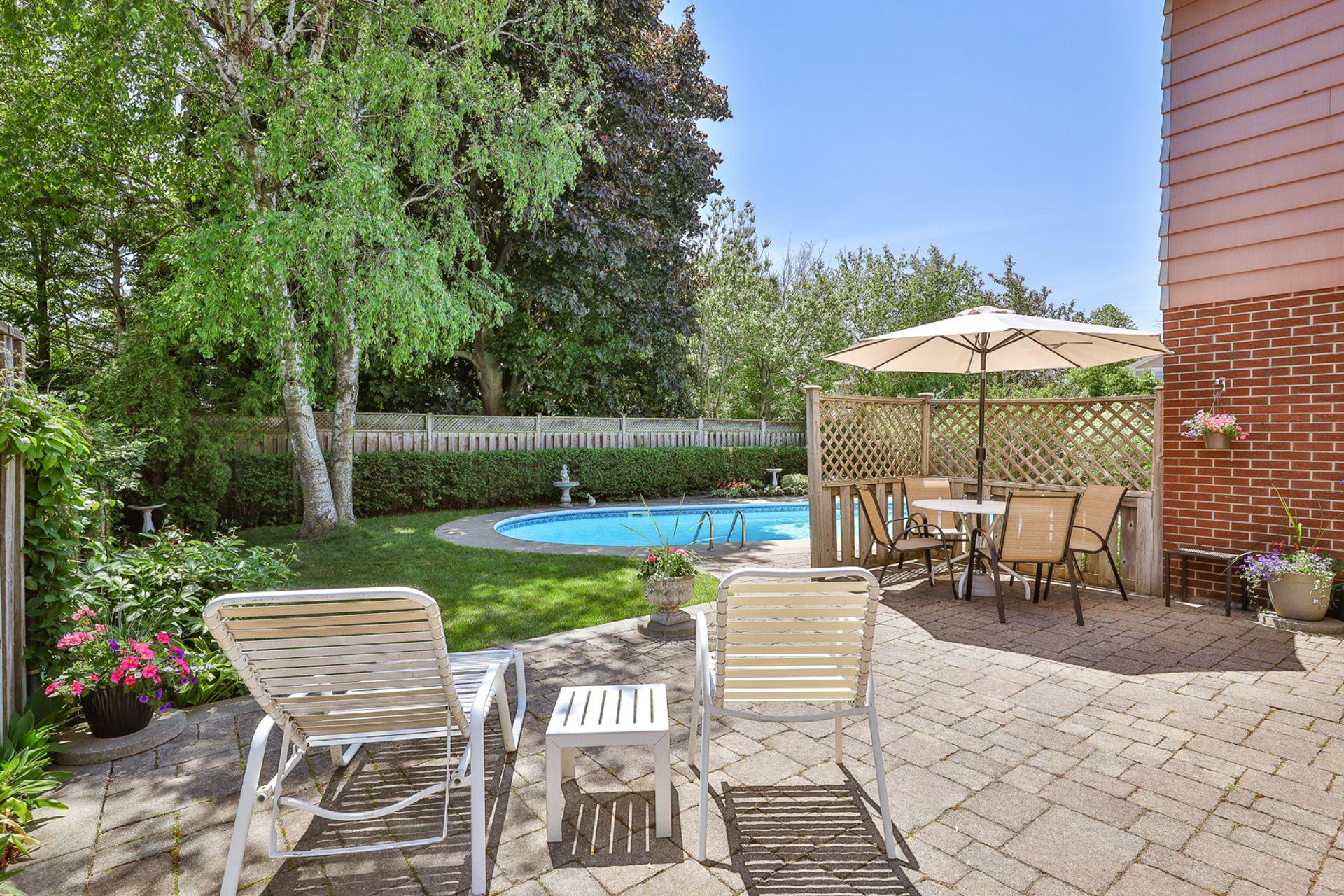 Backyard at 7 Deerpath Road, Parkwoods-Donalda, Toronto