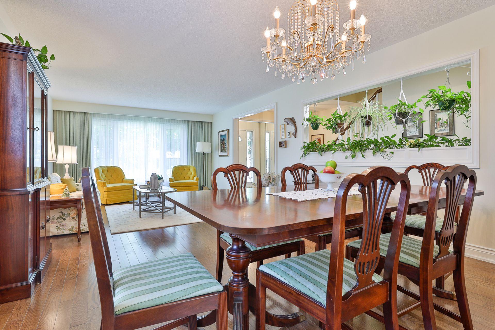 Dining Room at 7 Deerpath Road, Parkwoods-Donalda, Toronto