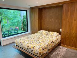 Games Room with Murphy Bed at 33 Sagebrush Lane, Parkwoods-Donalda, Toronto