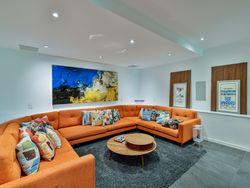 Media Room at 33 Sagebrush Lane, Parkwoods-Donalda, Toronto