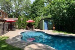 Backyard at 214 Three Valleys Drive, Parkwoods-Donalda, Toronto
