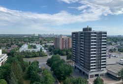View from Balcony at PH211 - 1121 Steeles Avenue W, Westminster-Branson, Toronto