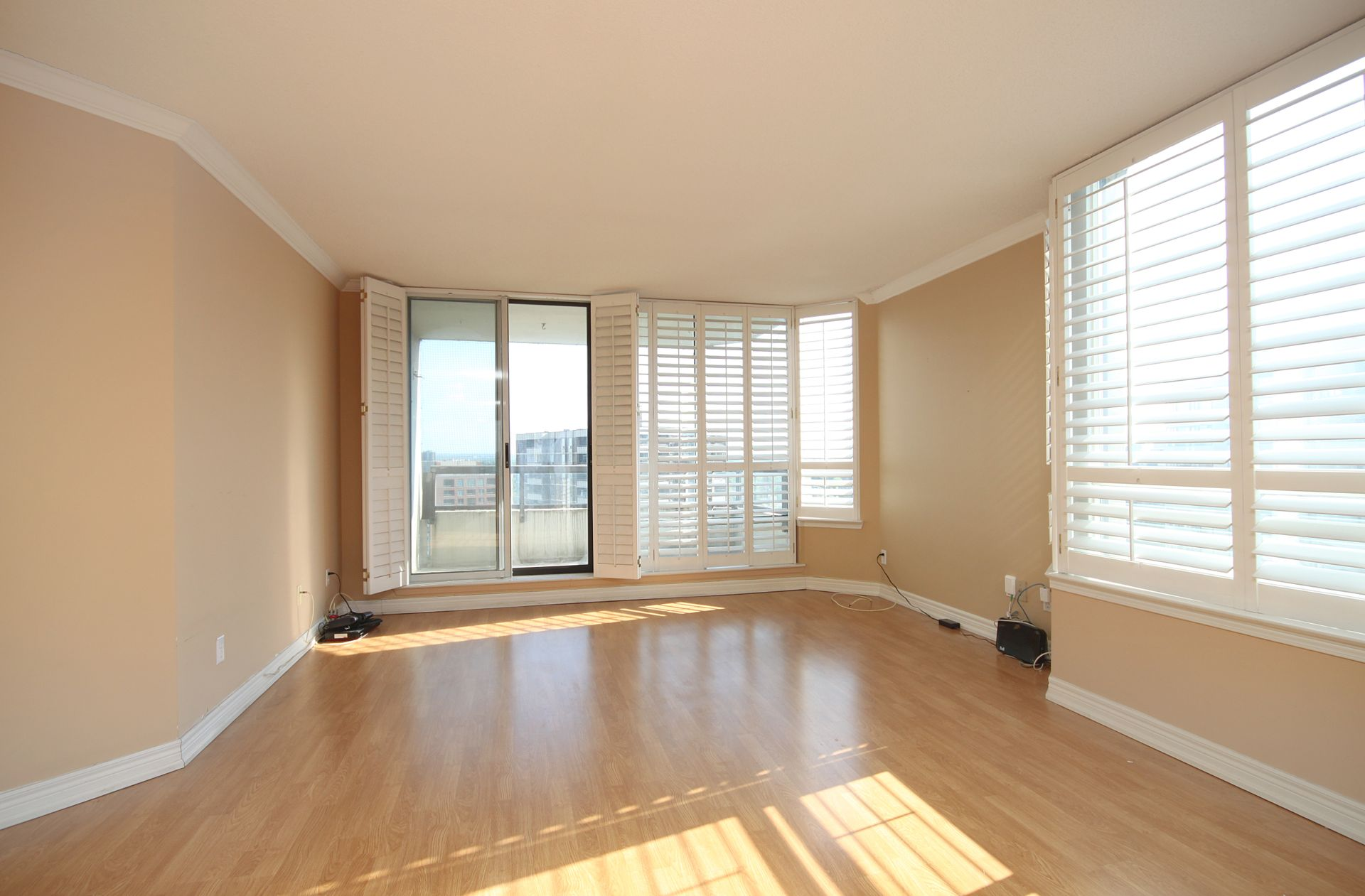 Living Room at PH211 - 1121 Steeles Avenue W, Westminster-Branson, Toronto