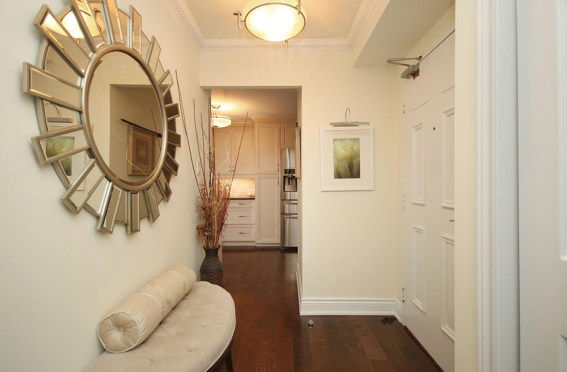Foyer at 1105 - 75 Wynford Heights Crescent, Banbury-Don Mills, Toronto