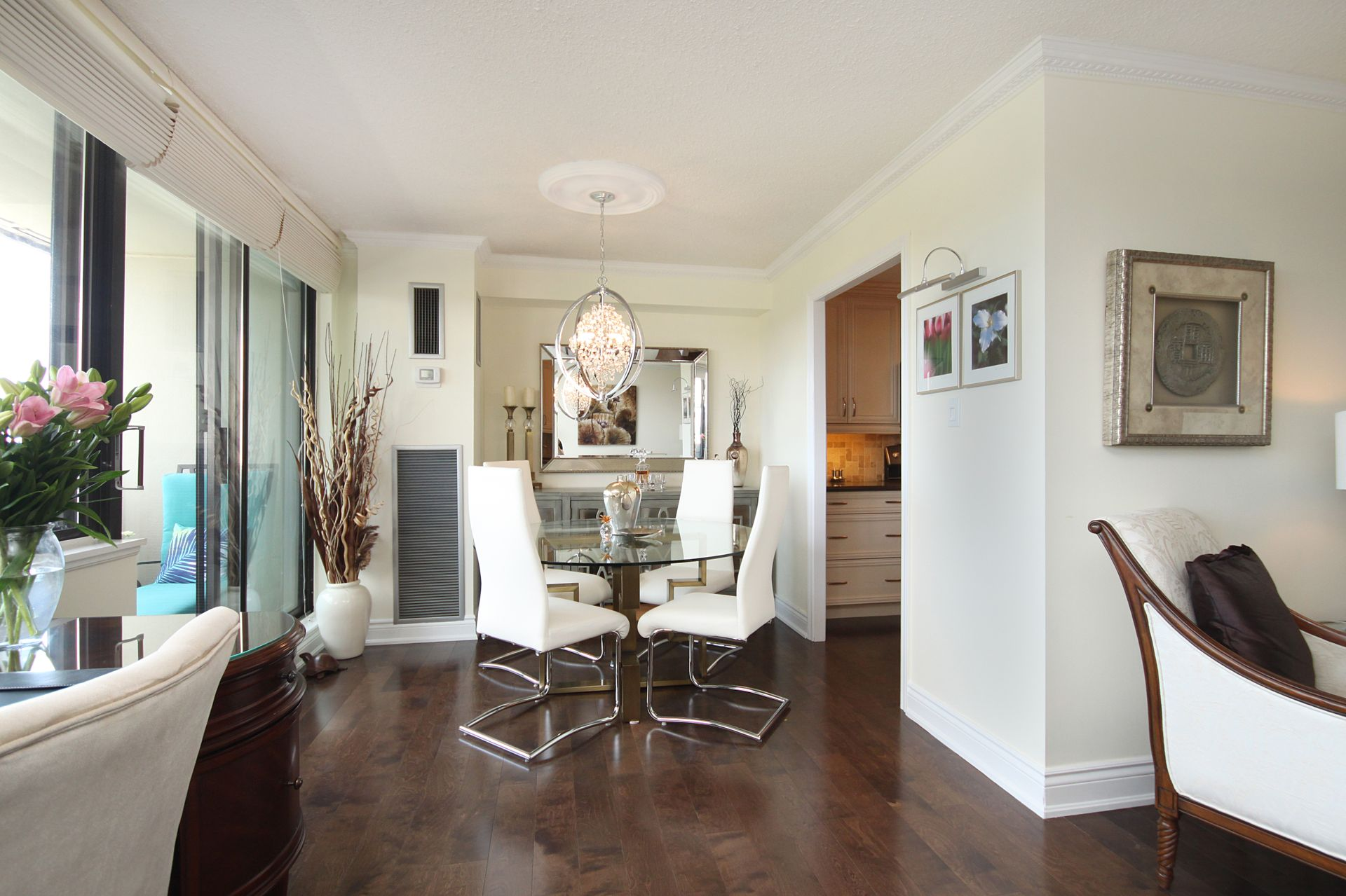 Dining Room at 1105 - 75 Wynford Heights Crescent, Banbury-Don Mills, Toronto