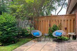 Backyard at 53 Stonedale Placeway, Banbury-Don Mills, Toronto