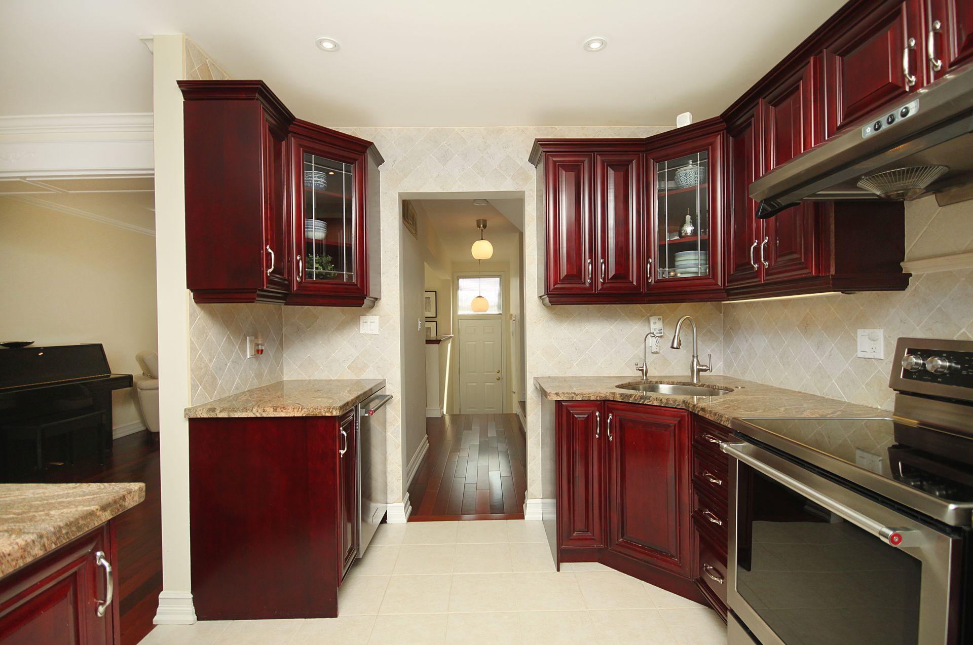 Kitchen at 53 Stonedale Placeway, Banbury-Don Mills, Toronto