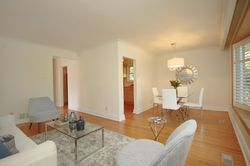 Living & Dining Room at 25 Fenelon Drive, Parkwoods-Donalda, Toronto