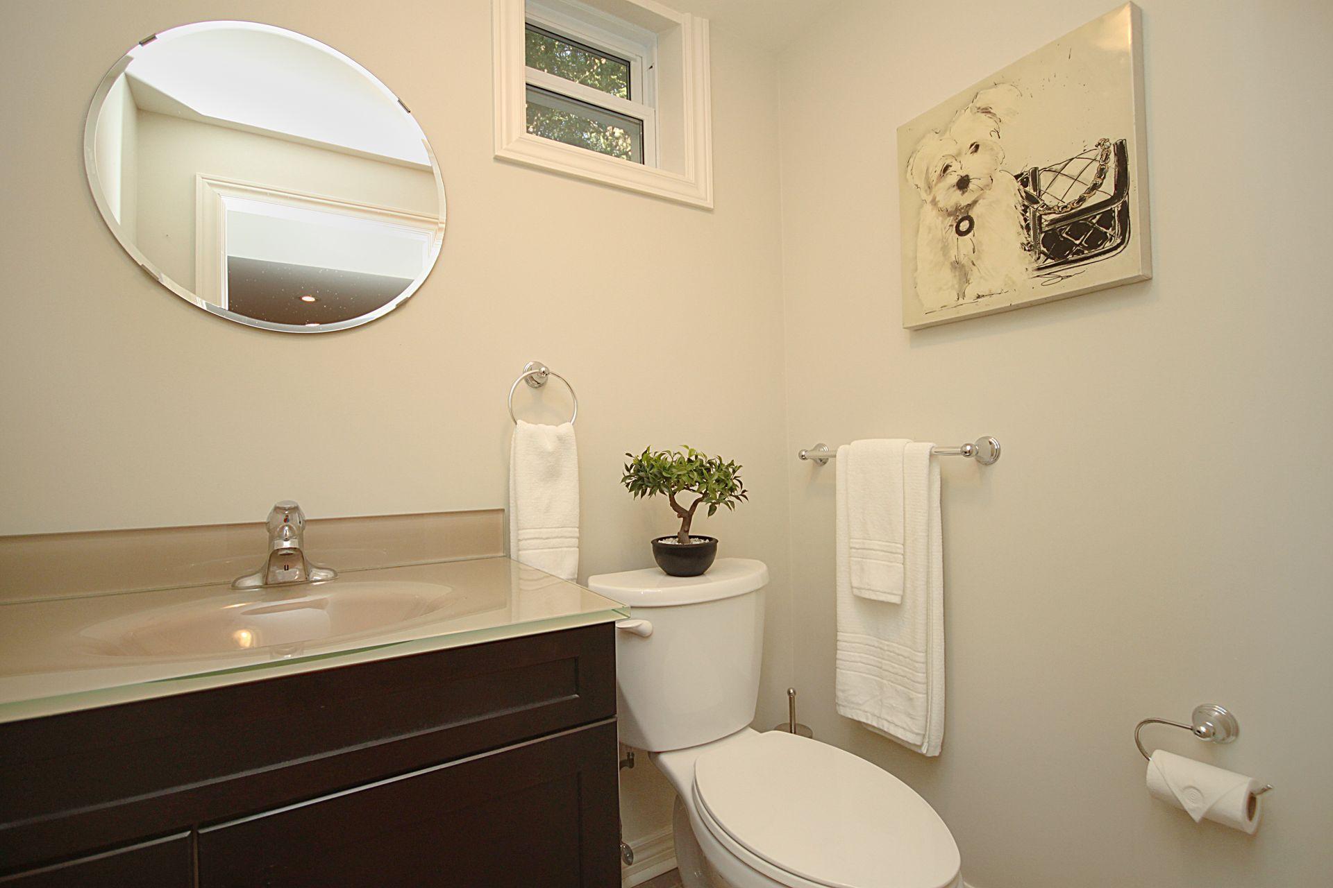 2 Piece Bathroom at 25 Fenelon Drive, Parkwoods-Donalda, Toronto