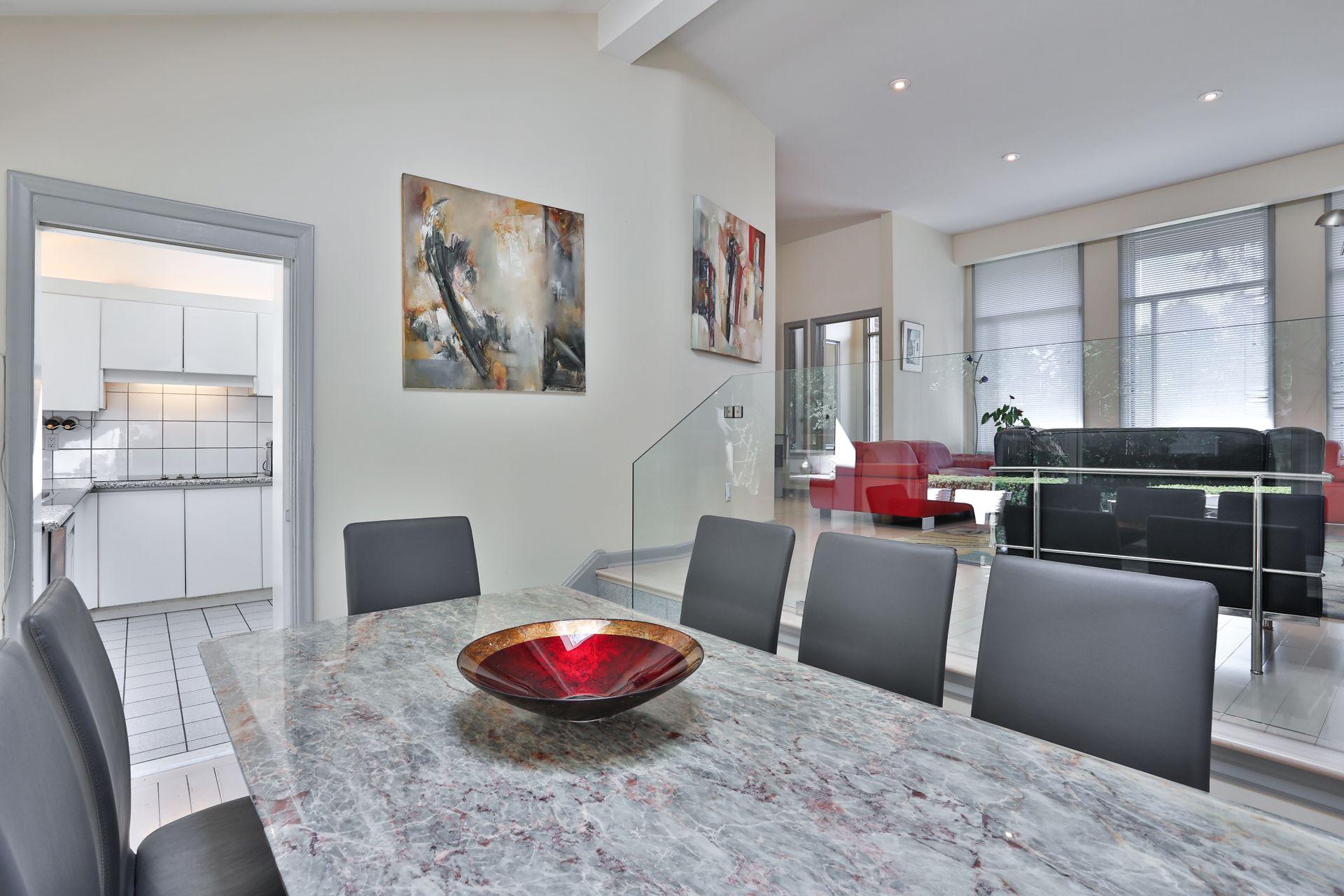 Dining Room at 4 Legato Court, Banbury-Don Mills, Toronto