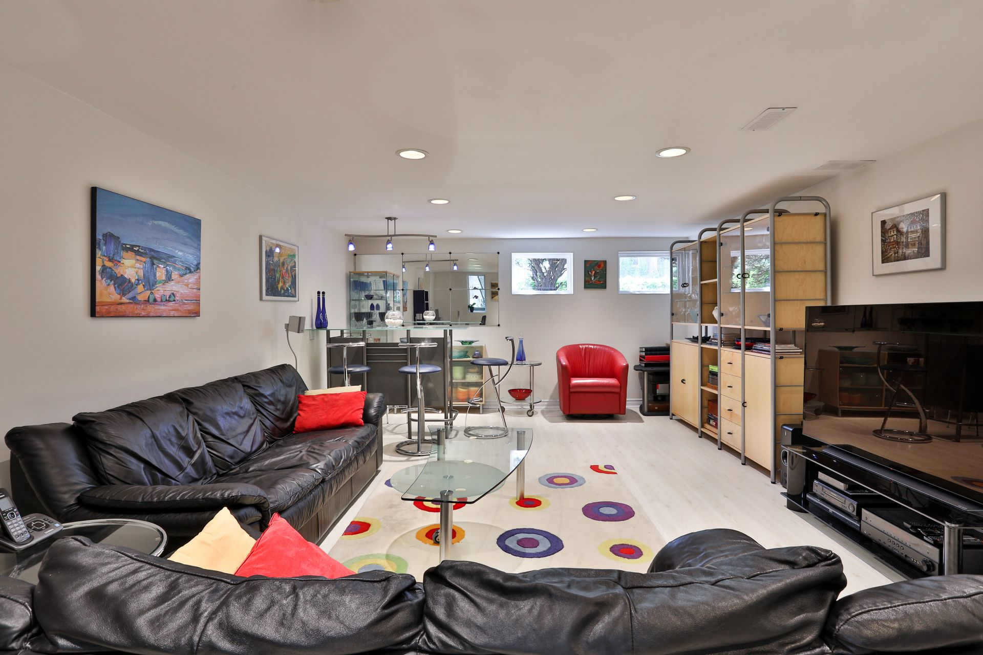 Recreation Room at 4 Legato Court, Banbury-Don Mills, Toronto