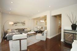 Living Room at 57 Stonedale Placeway, Banbury-Don Mills, Toronto