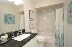 4 Piece Bathroom at 57 Stonedale Placeway, Banbury-Don Mills, Toronto
